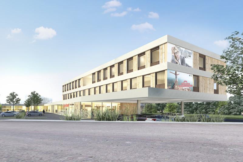 Architektur Fachmarktzentrum